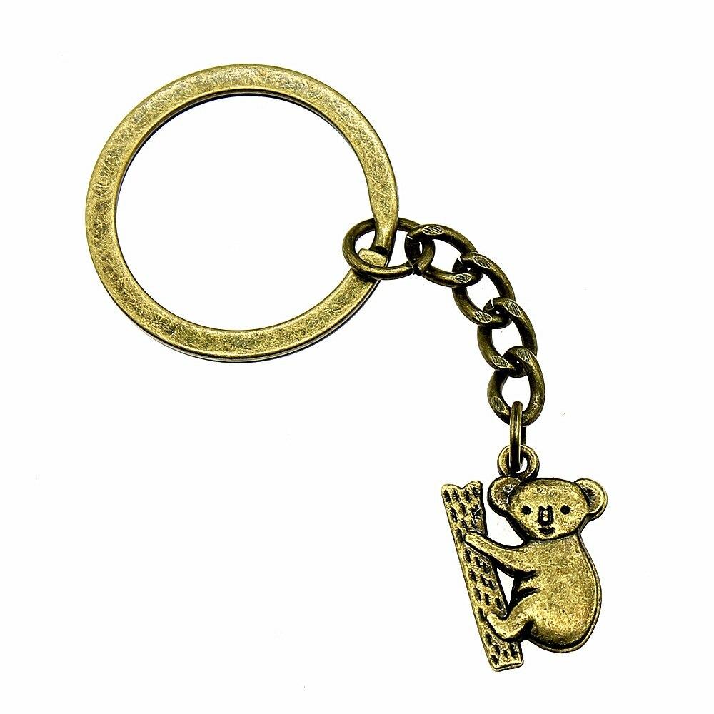 1 Stück Keychain Frauen Koala Hochzeit Geschenke Für Gäste Epacket Dropshipping 20x14mm Anhänger Antike Bronze
