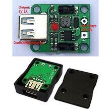 С источником питания от постоянного тока, 6 V-20 V 18V 5V 2A макс USB Зарядное устройство регулятор для Панели солнечные складной мешок/Сотовый Панель/зарядки телефона Питание модуль