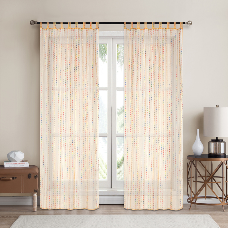 Artex Modern Curtains For Living Room Kitchen Room Tulle