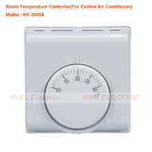 цена на SG-2000A Room Mechanical Thermostat Central Air Conditioner Temperature Controller Home or hotel use Room Temperture Controller