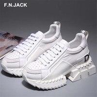 F. N. JACK/Женская обувь; оригинальная Женская Роскошная повседневная обувь на шнуровке; женские кроссовки на плоской подошве; базовые кроссовк