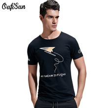 Men's T-Shirts Brand Fashion T Shirts Men O-Neck collar 100% Cotton Short Sleeve Slim Fit Tops Tees Male Clothing Summer New