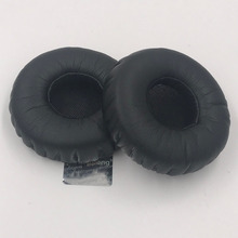 1 çift Kulak Pedleri Deri Yedek AKG K450 K420 K430 K451 Q460 K480 bluetooth kablosuz kulaklıklar 50mm Evrensel kulak pedleri