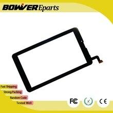 """A + Nueva Capacitiva digitalizador de pantalla táctil Para 7 """"4 Buena luz AT200 Tablet panel táctil reemplazo del sensor de cristal"""