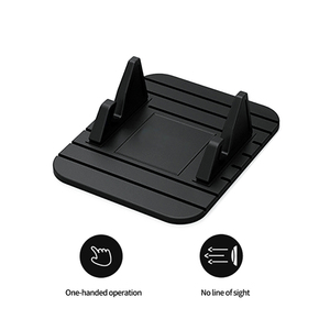 Image 4 - Car Dashboard Non slip Mat Rubber Mount Phone Holder Pad Mobile Phone Stand Bracket For Samsung Mobile Holder #2