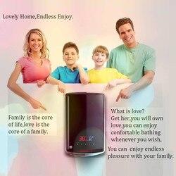 Tankless الكهربائية لحظية سخان مياه ساخن درجة حرارة ثابتة دش غلاية للحمام صنبور مصرف حوض صنبور