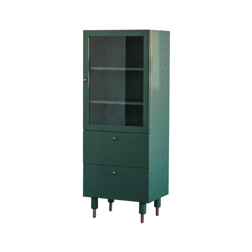 [InYard original] meuble haut d'angle de vie/meuble latéral TV, rangement en verre, buffet, salon, nordique, simple, moderne - 6
