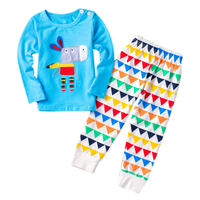 Hot New Spring Autumn baby clothing sets 2pcs cartoon donkey Newborn baby sets with stripe long pants kids clothes child sets Y3