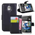 Phone Cases  For HTC Desire 210 / Dual sim Mobile Phone Cover Case ,Luxury Leather Wallet Stand Case With Card 1 piece
