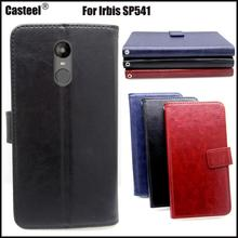Casteel Classic Flight Series high quality PU skin leather case For Irbis SP541 Case Cover Shield