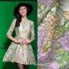 429 Autumn And Winter Women S Fabric Big Flower Bird Yarn Dyed Jacquard Dress Dress Suit
