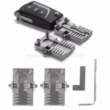 Зажим ключа приспособление дублирующий режущий станок для автомобиля ключ копировальный инструмент универсальный JUL19 Прямая поставка
