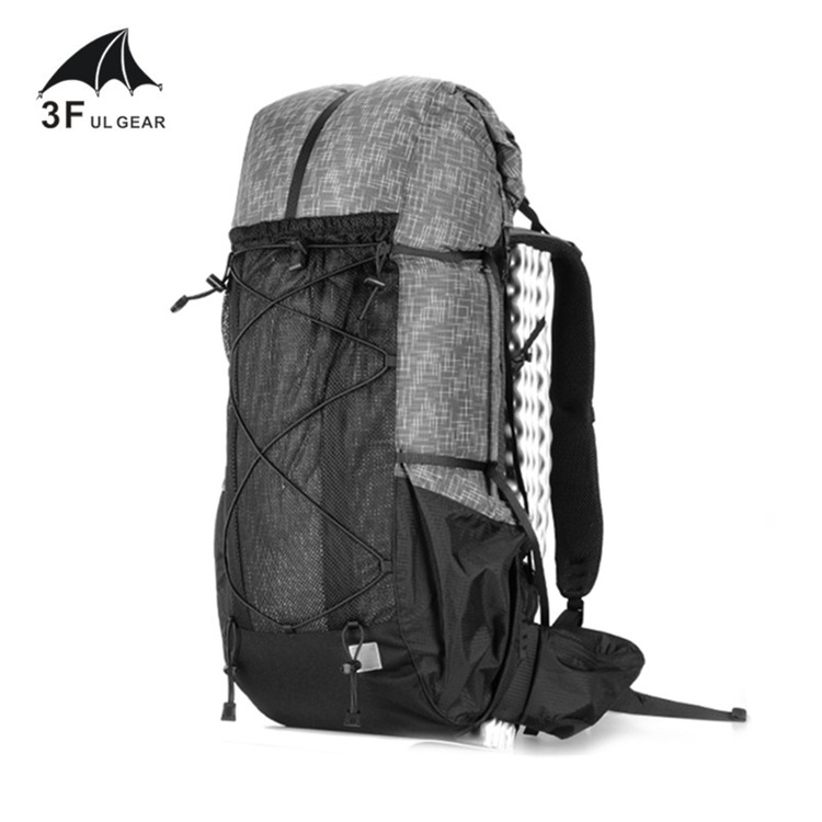 3F UL Gear Water-resistant Hiking Backpack Lightweight Camping Pack Travel Outdoor Backpacking Trekking Rucksacks 40+16L3F UL Gear Water-resistant Hiking Backpack Lightweight Camping Pack Travel Outdoor Backpacking Trekking Rucksacks 40+16L