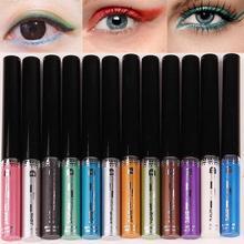 8 Colors Liquid Eyeliner Shimmer Eyeliner gel Glitter Eye liner Makeup Eye Highlighter Cosmetic RP2