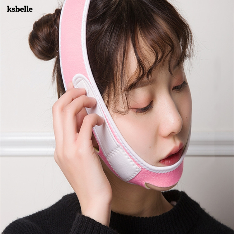 Face Slim V Line Lift Up Mask Cheek Chin Neck Slimming Thin Belt Strap Beauty Delicate