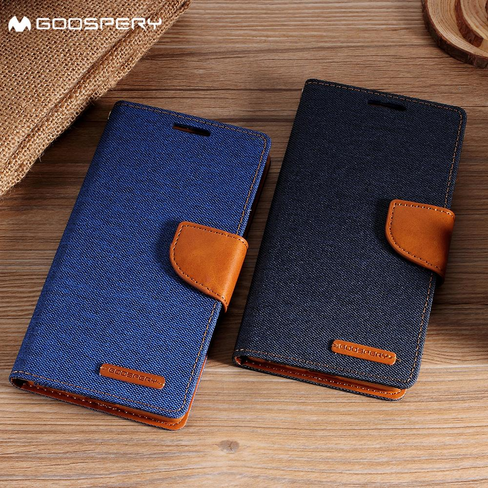 Mercury Goospery For Samsung Galaxy A5 2017 Case Stand Canvas S8 Diary Blue 1 X Leather Wallet