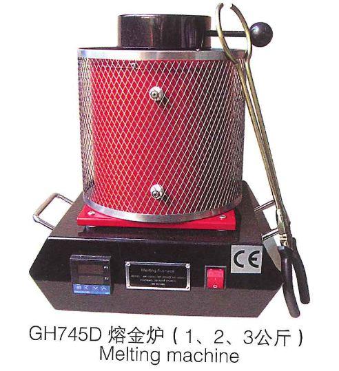 купить Automatic Digital 2KG Kilo Gold Melting Furnace Crucible Furnace Melt Scrap Gold Digital Melting Machine Furnace онлайн