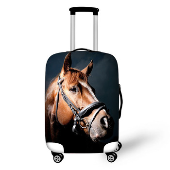 Horse Prints Luggage Protector Cover Suitcases Covers Waterproof Luggage Covers Accessory Bags Travel Trolley Case Cover