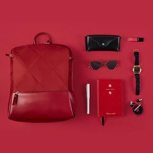 Image 5 - NINETYGO 90FUN moda elmas kafes sırt çantası 14 inç laptop çantaları kadınlar kızlar bayanlar için okul koleji için seyahat gezisi