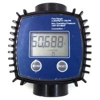 K24 Adjustable Digital Turbine Flow Meter For Oil Kerosene Chemicals Gasoline Methanol Water Urea Etc.10 120L/Min|Flow Meters|   -