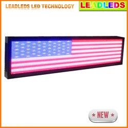 168x40 cm P10 zewnątrz wodoodporny kolorowy wyświetlacz Led ekran/tablica z podświetleniem Led znak pokładzie korzystać LAN programowania