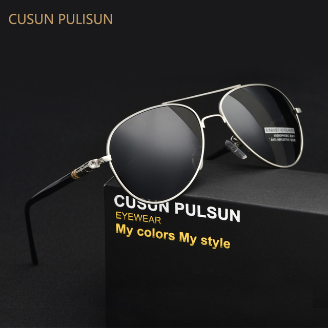Men's Driving Aluminum Magnesium Polarized Sunglasses Retro Glasses High Quality Brand Mirror Sports Sun glasses Male Eyewear