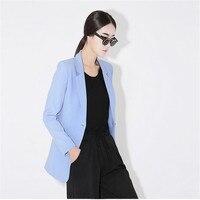 봄 여성의 재킷 새로운 브랜드 정장 아름다운 슬림 긴 섹션 작은 재킷 재킷 여성 긴 소매 재킷 A3012