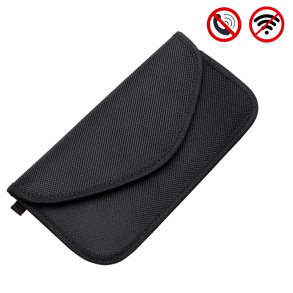 Car Key Bag Signal Blocking Bag Signal Blocker Case Anti-magnetic for Phone Keys Cards Shielding Pouch Wallet Privacy Protection d103 signal shielding radiation protection pu nano material bag pouch for 15 laptops black