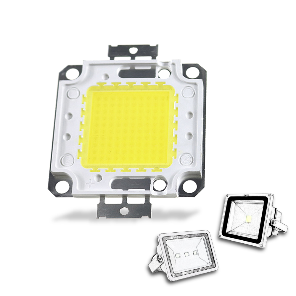 DC30-36V LED High Power COB Chip 10/20/30/50/100W LED Integrated Source SMD For Floodlight Spotlight Outdoor Lighting Project JQ
