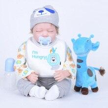 """22 """"Renascer Baby Dolls Brinquedos De Menina Maravilhoso Presente Das Crianças Bonecas Recém-nascidos Meninos Bebês Brinquedos para Crianças Juguetes Bebe SB5554"""