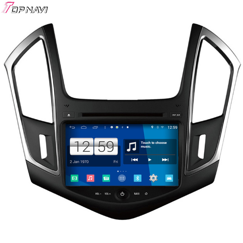 Top Free Shipping 8'' Quad Core S160 Android 4.4 Car DVD GPS For Chevrolet New Cruze 2013 With Stereo Radio Mirror Link BT Wifi