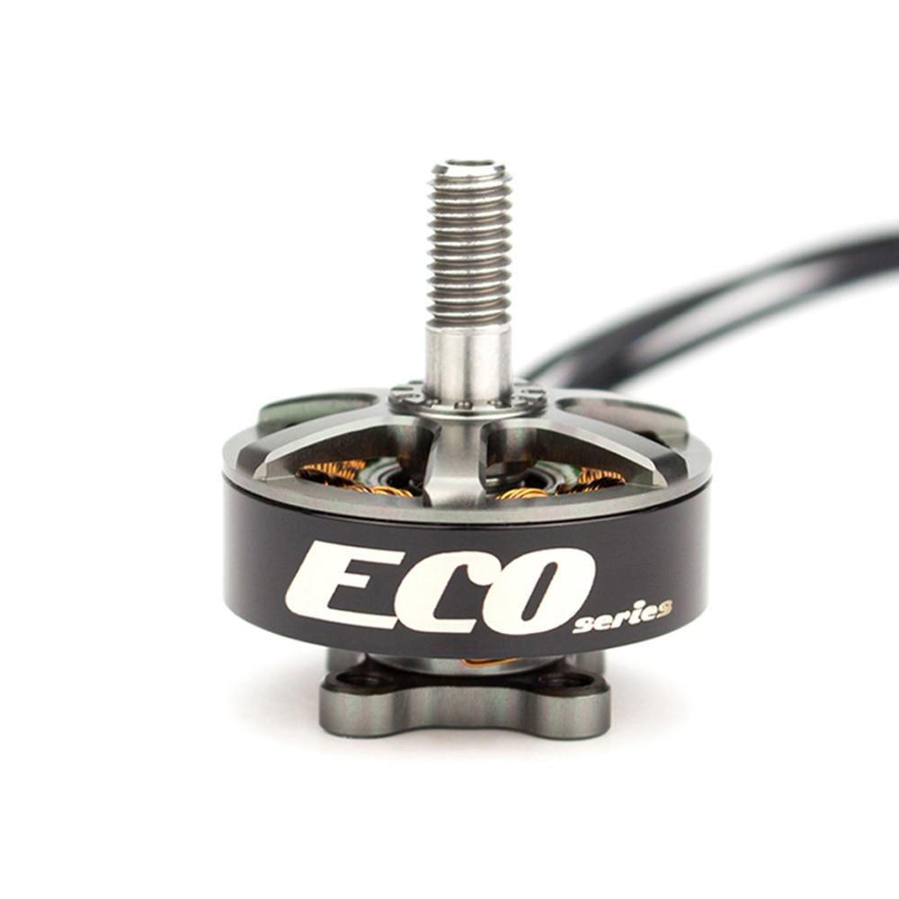 Oficial Emax Serie ECO 2306 1700KV/2400KV de Motor sin escobillas para RC avión FPV que compite con el zángano
