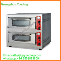 two layer two traysTrays commercial gas/diesel oil rotary oven for baking bread