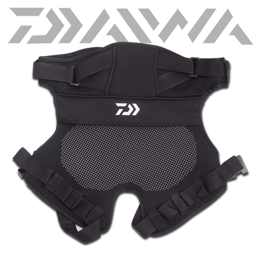 Daiwa Fishing Cushion Breathable Black Anti slip Cushion Super Soft Ultra light Comfortable Cotton Suitable For Sea Rock Fishing in Fishing Clothings from Sports Entertainment