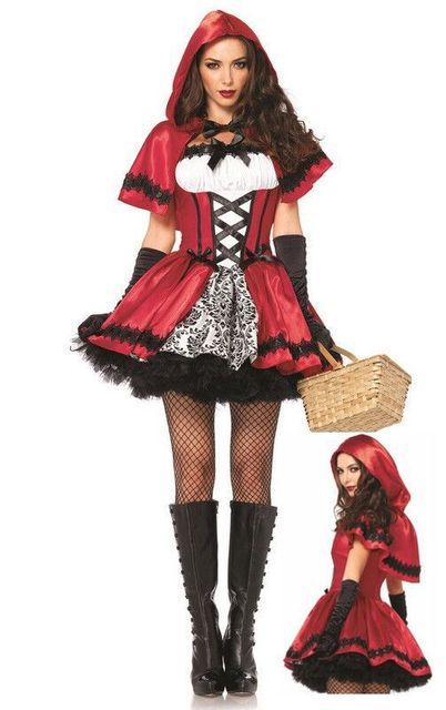Halloween Costumes For Women Little Red Riding Hood High Quality Cosplay  Costumes Little Red Riding Hood 82a45fb4d
