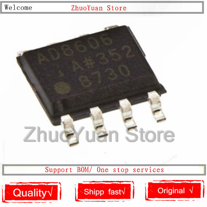 1PCS/lot AD8606ARZ AD8606 Chip AD8606AR SOP-8 IC Chip