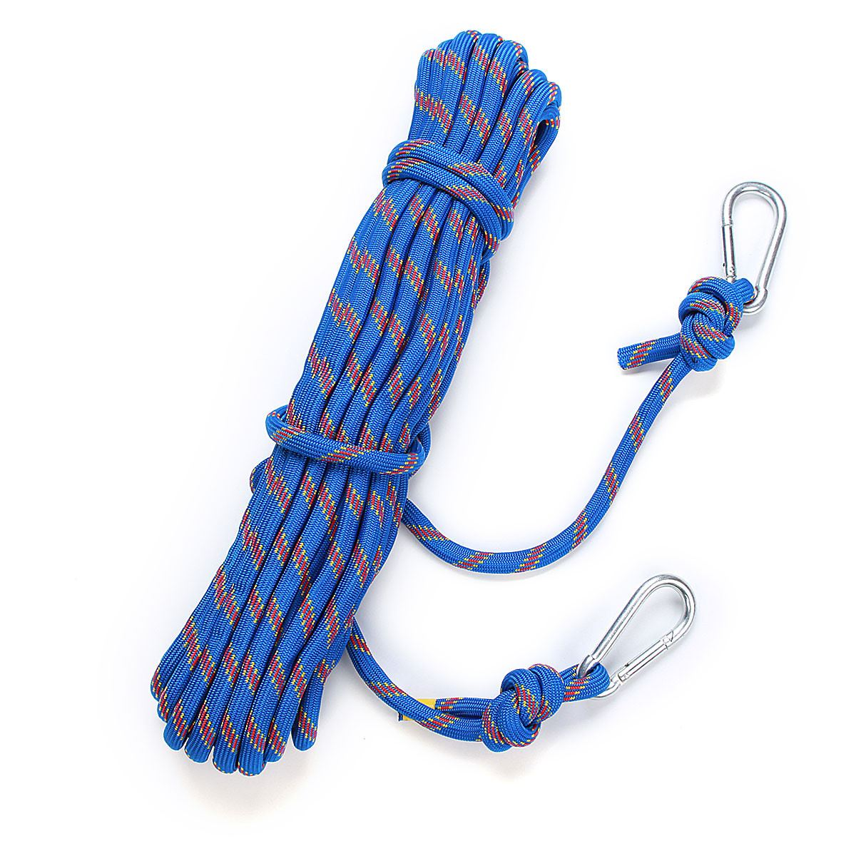 15M Outdoor Survival Paracord Climbing Rope Cord String Safety Lifeline 3KN Professional Climbing Safety Rope Rescue kits hinda family lifeline 10mm wire rope core fire protection safety rope escape rope down device
