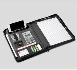 Multifuctional A4 manager dokument tasche taschen ordner für dokumente mit zipper faltbare stand rack für ipad/handy/tablet 1267B