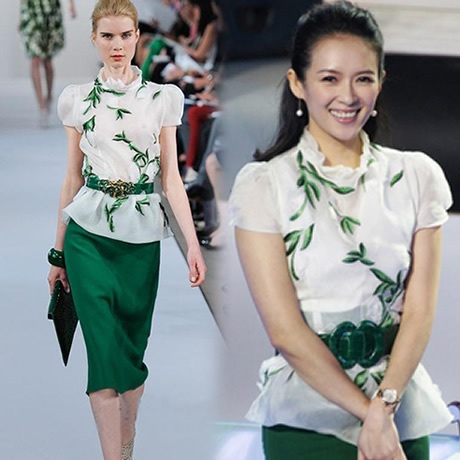 High quality 2013 chiffon one-piece dress female fashion short-sleeve ol slim hip skirt summer