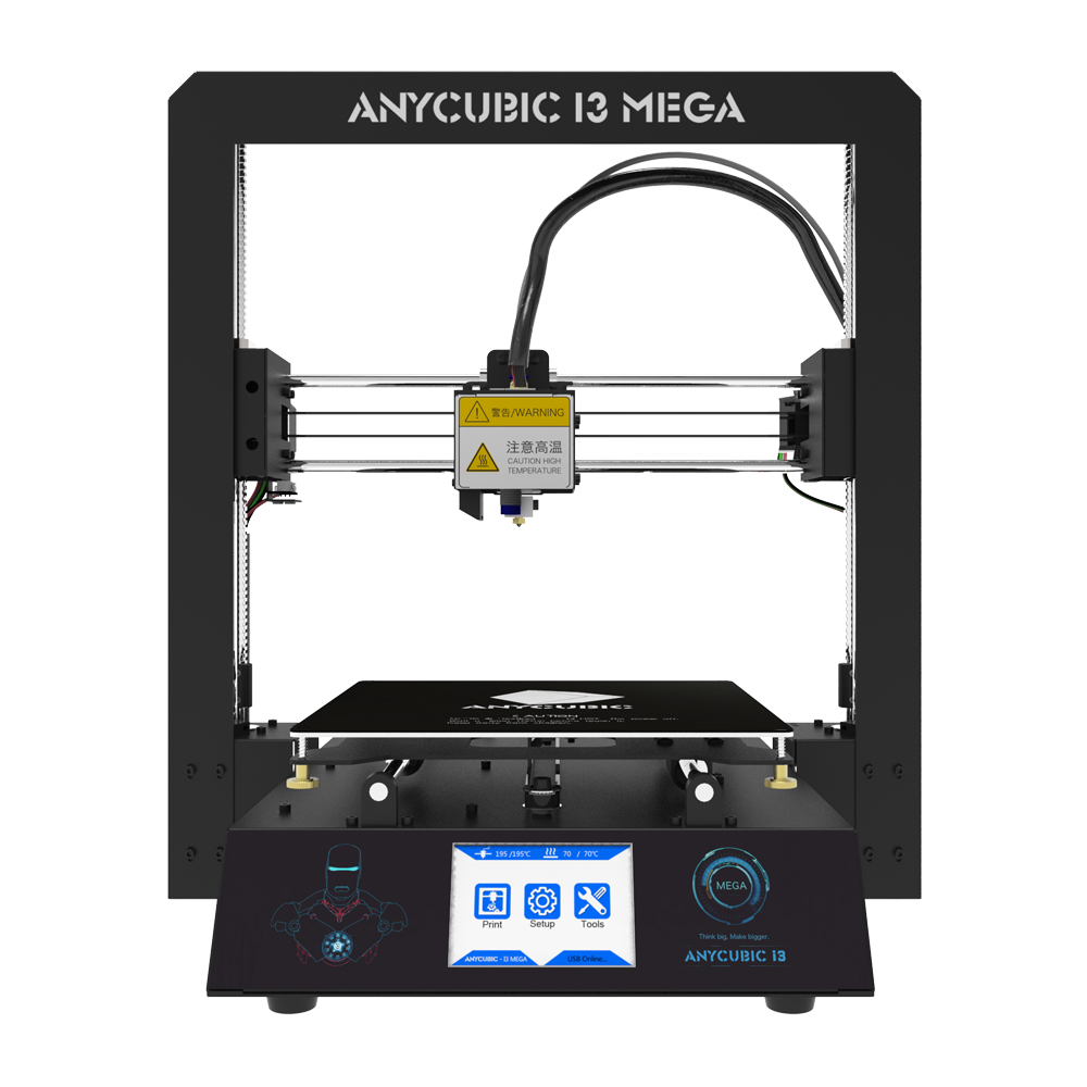 Anycubic 3D printer I3 Mega full metal frame colorful industrial grade high precision affordble Hot sale