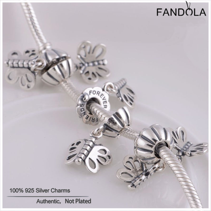 c6e1cb6bf ... butterfly charm 790531 comes with 0baa9 9c805; where can i buy fits pandora  charms bracelets 100 authentic 925 sterling silver best friends forever