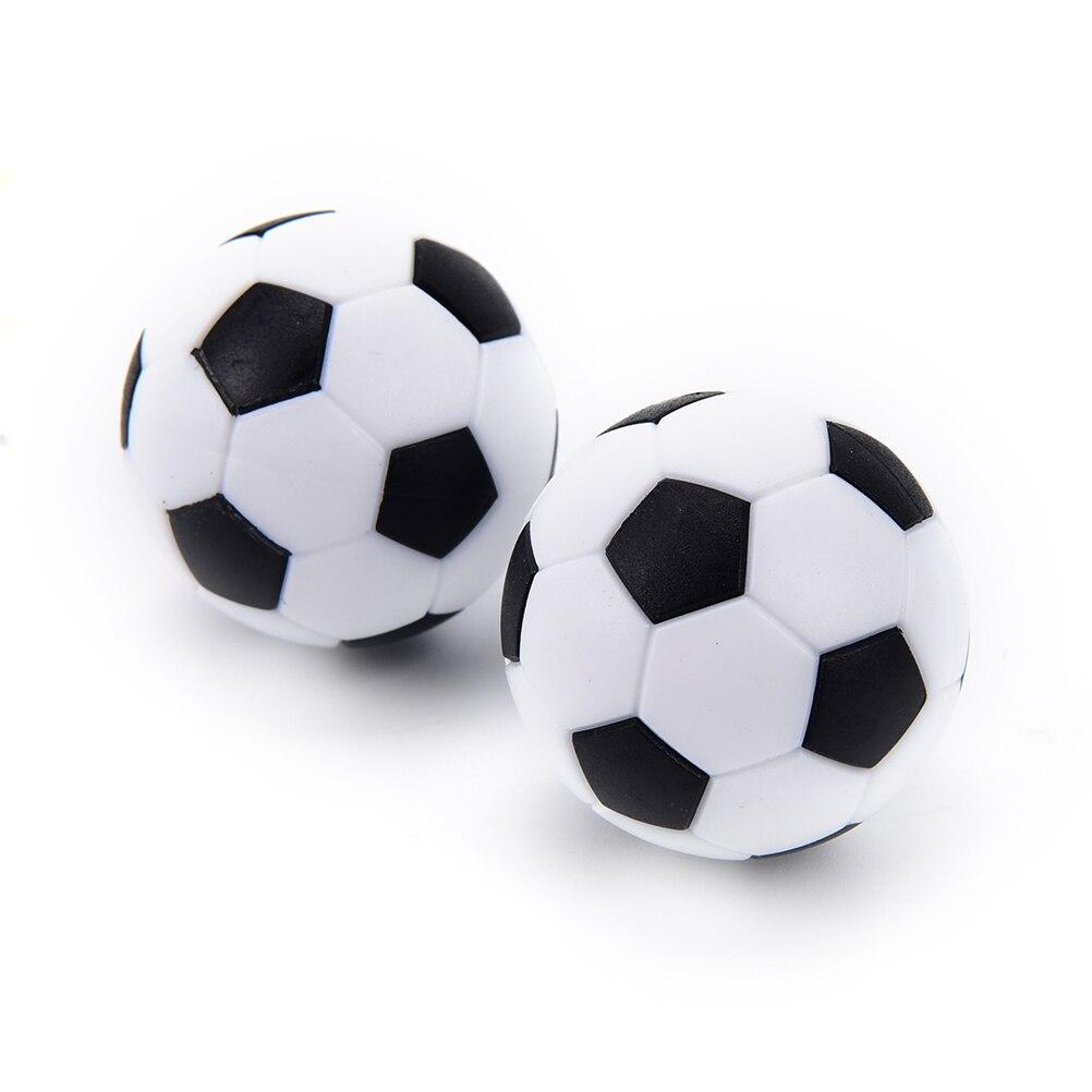 4 Pcs Foosball Table Football  Gifts Round Indoor Games 32mm Plastic Soccer Ball Football Fussball Soccerball Sport