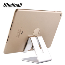 Shellnail Universal tableta de aluminio soporte para Apple ipad soporte de Metal para iphone m ipad samsung Galaxy tab