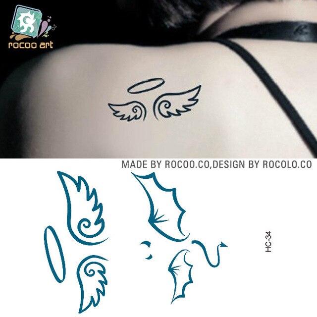 5 Stücke Verkauf Einweg Wasserdichte Tattoo Aufkleber Für Männer Und