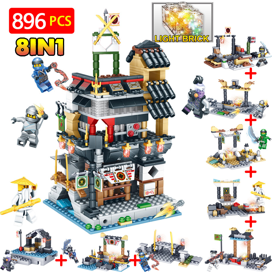 70620 Technic Blocks Series Compatible LegoINGLYS Ninjagoed City Action Figures DIY Bricks Guard Educational Toys For Children 588pcs bricks diy ninjagoed movie building blocks compatible legoingly shark ninjagoed mini action figures blocks children toys