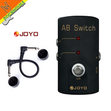 JOYO JF-30 A/B Switch to route your signal to two different setups guitar effect pedal mooer micro aby signal path from a b to y or from y to a b true bypass guitar effect pedal full metal shell