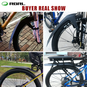 Image 5 - Rbrl mtb 머드 가드 조정 가능한 자전거 펜더 세트 특허 디자인 전자 자전거 펜더 퀵 릴리스 24 26 27.5 29 인치
