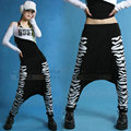 New fashion harem Hip Hop Dance Sweatpants Costumes animal tiger print pants performance wear trousers