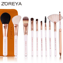 Hot Sale 2013 ZOREYA professional 10pcs Multi-functional makeup brush set makeup brushes for women cosmetic tools beauty kit