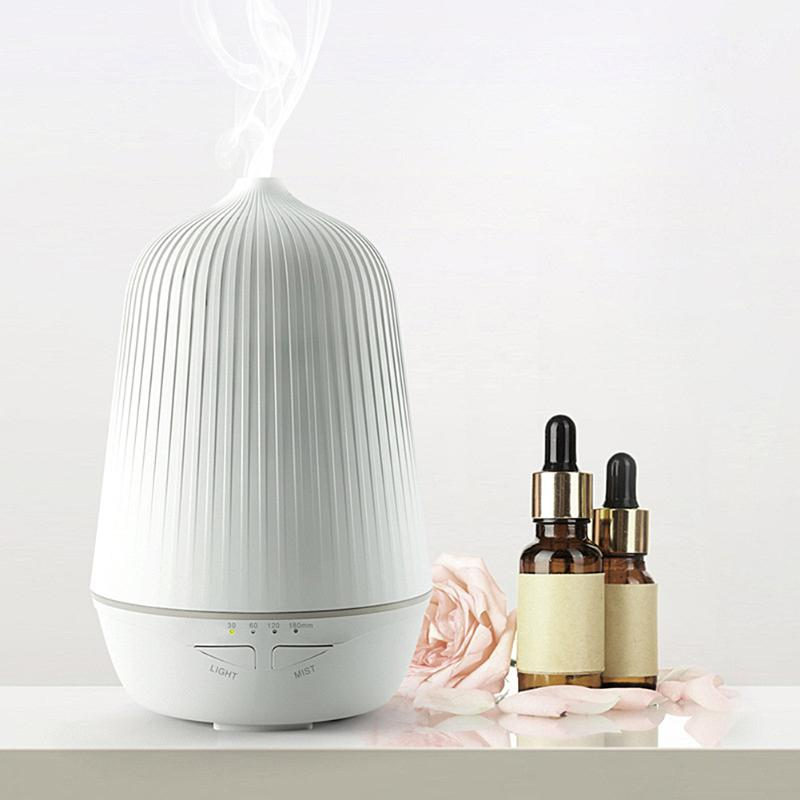 Aromatherapy Essential Oil Diffuser Ultrasonic Anion Aromatherapy Humidifier US regulatory plug For SPA Yoga Best Oil Diffuser hot sale humidifier aromatherapy essential oil 100 240v 100ml water capacity 20 30 square meters ultrasonic 12w 13 13 9 5cm